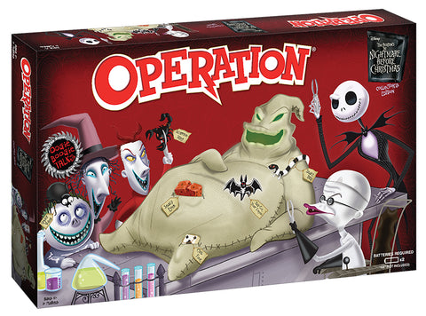 OPERATION®: Tim Burton's The Nightmare Before Christmas Collector's Edition