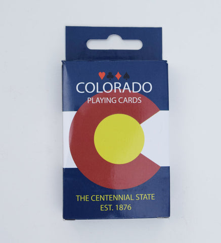Colorado Playing Cards: Flag