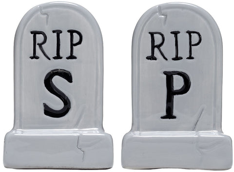 Salt & Pepper Shakers: Tombstone