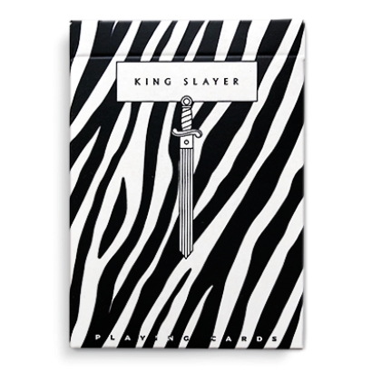 Playing Cards: Zebra King Slayer