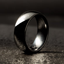 Load image into Gallery viewer, Black Ceramic Ring - Minimalist