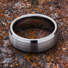 Load image into Gallery viewer, Silver Tungsten Ring - Minimalist