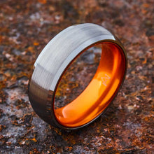 Load image into Gallery viewer, Silver Tungsten Ring