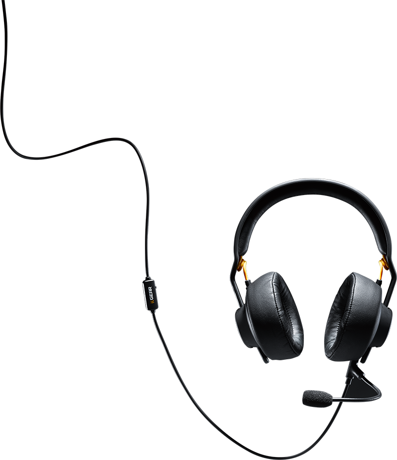 The gaming headset, redefined.