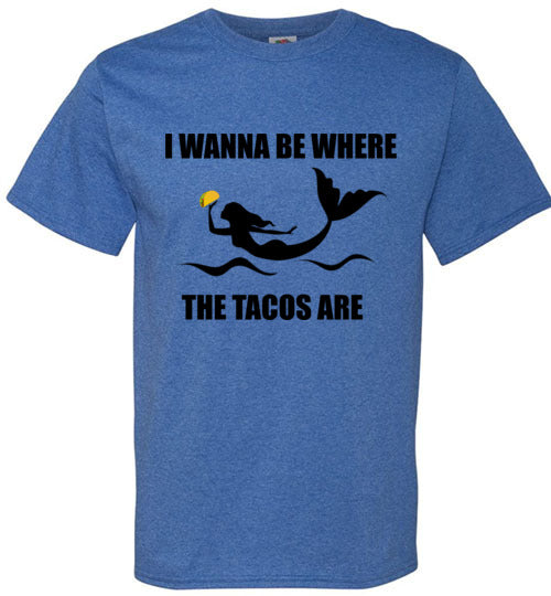 Where the Tacos (Mermaids) Are
