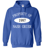 Property of Nash Grier 1997 Hoodie