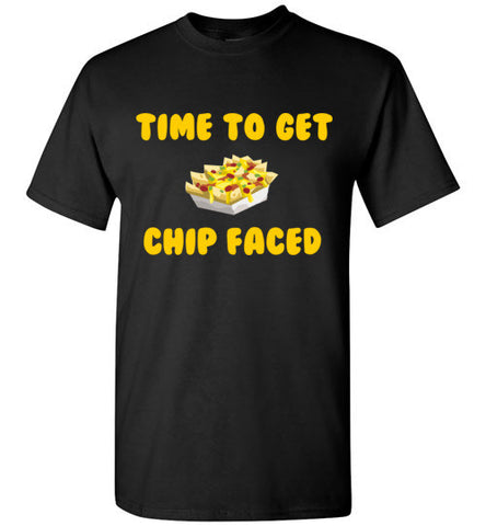 Time to Get Chip Faced T-Shirt