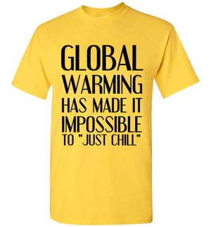 "Global Warming Has Made it Impossible to ""Just Chill"""