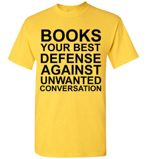 Books Your Best Defense Against Unwanted Conversation