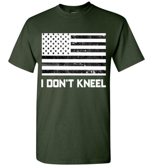 I Don't Kneel American Flag T-Shirt