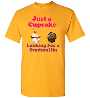 Just a Cupcake Looking for a Studmuffin