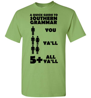 A Quick Guide to Southern Grammar