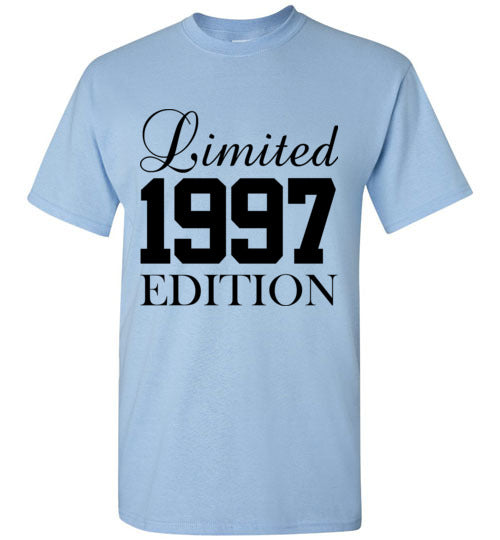 Limited Edition 1997 21st Birthday T-Shirt