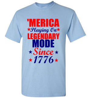 'Merica Playing On Legendary Mode Since 1776