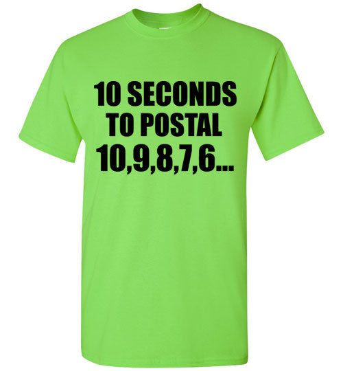 10 Seconds to Postal 10,9,8,7,6...