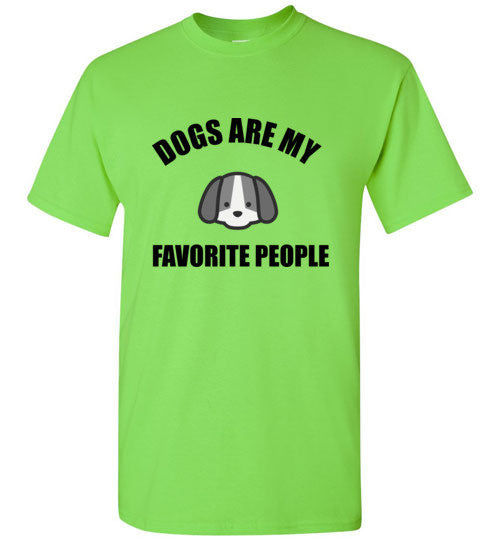 Dogs Are My Favorite People T-Shirt
