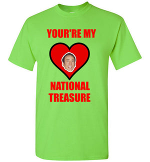 You're My National Treasure Nic Cage Valentine
