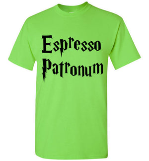 Espresso Patronum Harry Potter Coffee T-Shirt
