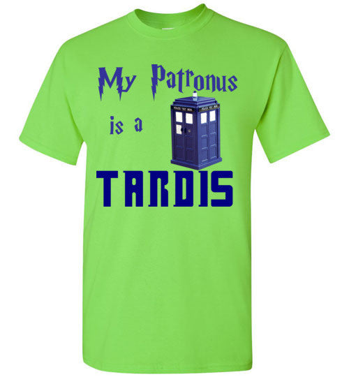 My Patronus is a Tardis