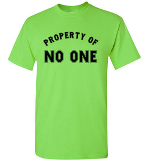 Property of No One