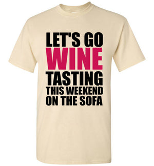 Let's Go Wine Tasting on the Sofa
