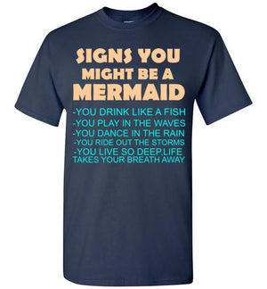 Signs You Might be a Mermaid
