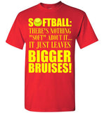 Softball There's Nothing Soft About it It Just Leaves Bigger Bruises