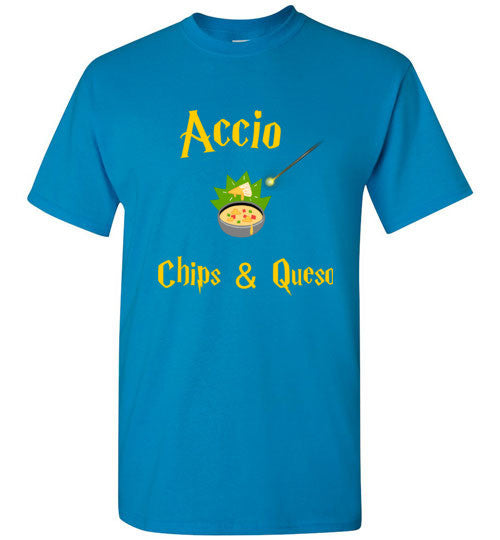 Accio Chips and Queso T-Shirt