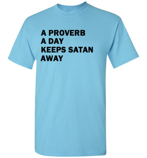 A Proverb a Day Keeps Satan Away