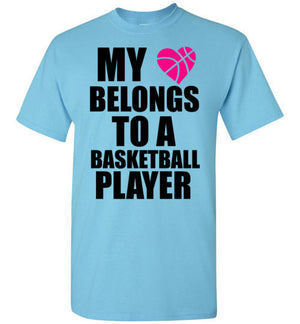 My Heart Belongs to a Basketball Player