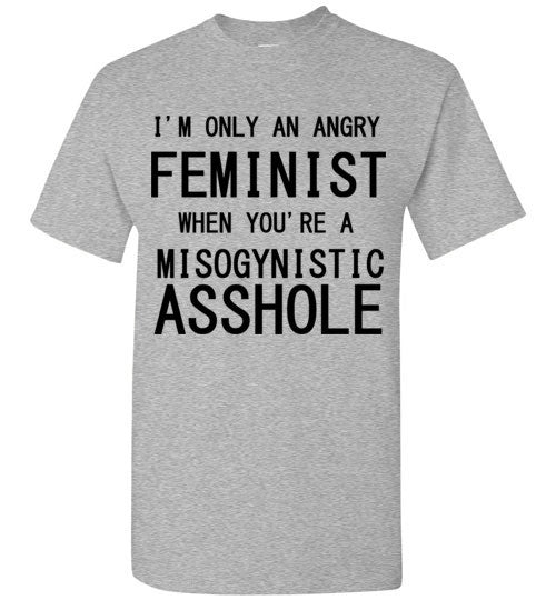 I'm Only An Angry Feminist When You're a Misogynistic Asshole