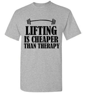 Lifting is Cheaper Than Therapy