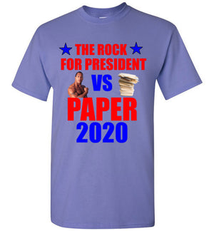 The Rock For President VS Paper