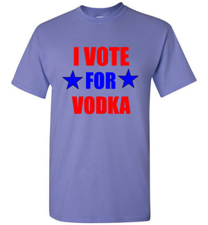 I Vote for Vodka