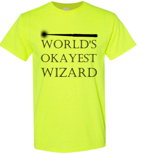 World's Okayest Wizard T-Shirt