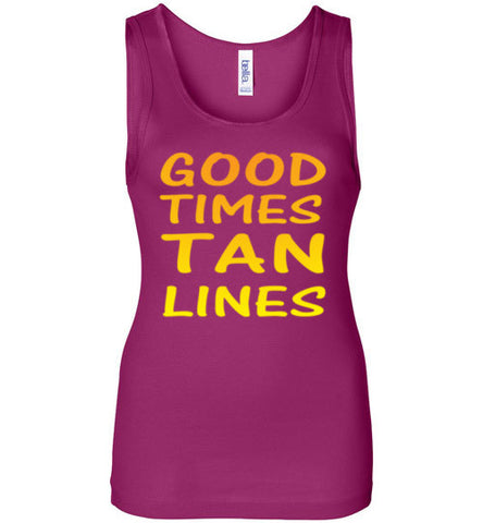 Good Times Tan Lines Tank Top