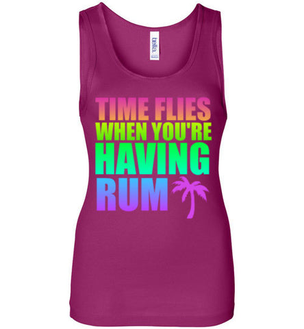 Time Flies When You're Having Rum Tank Top