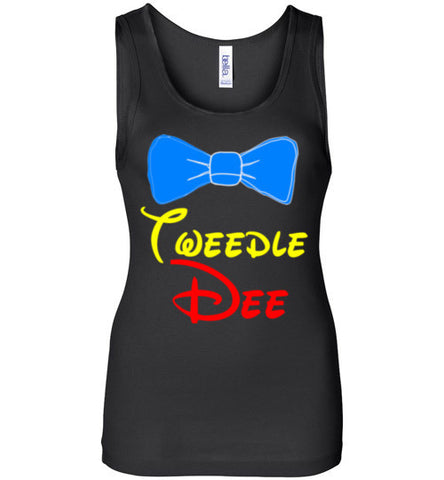 Tweedle Dee Best Friends Tank Top