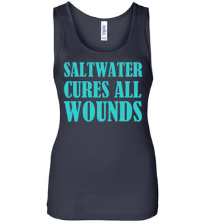 Saltwater Cures All Wounds Tank Top