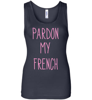 Pardon My French Tank Top