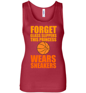 Forget the Glass Slippers This Princess Wears Sneakers Tank Top