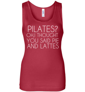 Pilates? Oh I Thought You Said Pie and Lattes