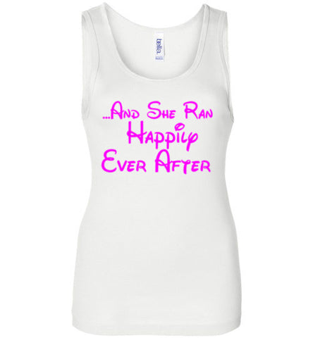 And She Ran Happily Ever After Tank Top