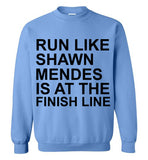 Run Like Shawn Mendes is at the Finish Line