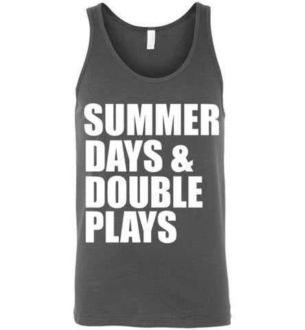 Summer Days and Double Plays Unisex Tank Top
