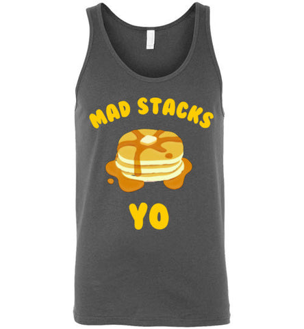 Mad Stacks Pancake Unisex Tank Top
