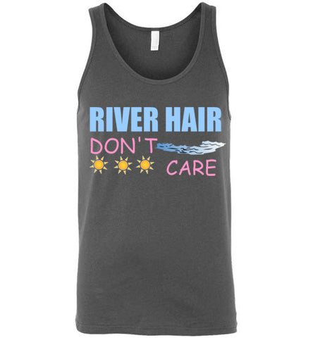 River Hair Don't Care Unisex Tank Top