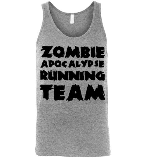 Zombie Apocalypse Team Tank Top