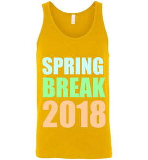 Spring Break 2018 Unisex Tank Top