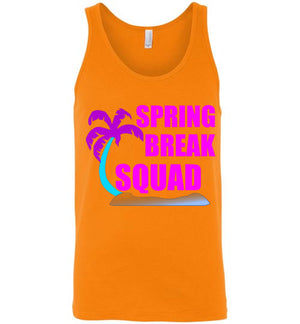 Spring Break Squad Unisex Tank Top